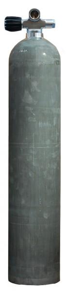 MES, 5,7 L (40 cuft) 207 bar Aluminium Tauchflasche mit LI Ventil Dirty Beast