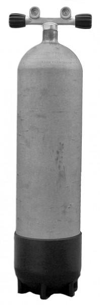 Faber, 15 L Lang / 200 bar Stahlflasche Doppelventil (Hot Dipped)
