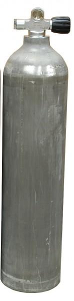 MES, 7 L 200 bar Aluminium Tauchflasche mit RE Ventil Dirty Beast