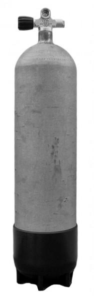 Faber, 10 L Lang / 200 bar Stahlflasche LI Ventil (Hot Dipped)