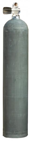 MES, 7 L 200 bar Aluminium Tauchflasche mit Standard Ventil Dirty Beast (Stage)