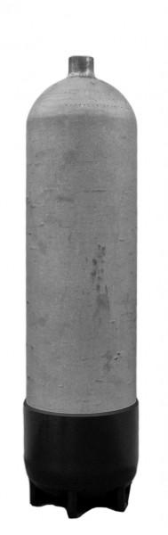 Faber, 12 L Lang / 200 bar Stahlflasche Ohne Ventil+Fuß (Hot Dipped)