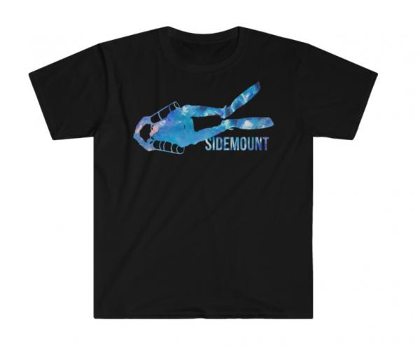 Anti-Gravity Diving Sidemount Design Shirt 2019