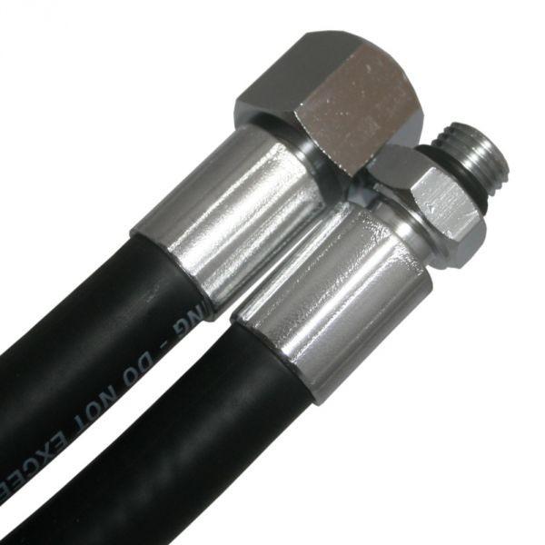 MD-Mitteldruckschlauch Gummi 210mm - Longhose