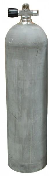MES, 11,1 L (80 cuft) 207 bar Aluminium Tauchflasche mit LI Ventil Dirty Beast