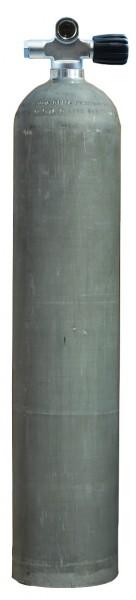 MES, 5,7 L (40 cuft) 207 bar Aluminium Tauchflasche mit RE Ventil Dirty Beast