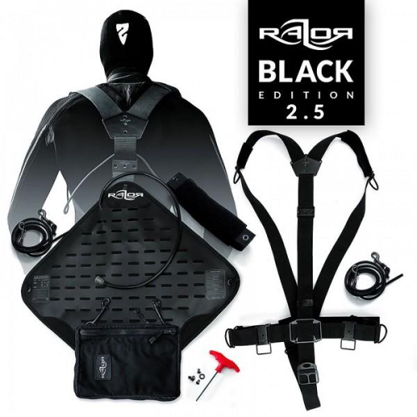 Das Basic Razor Sidemount System 2.5 Complete - Black Edition