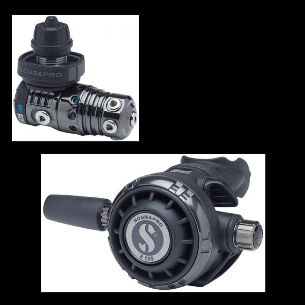 Scubapro MK25 EVO DIN 300 BT / G260 BT