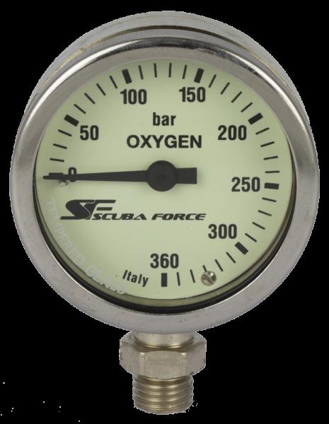Finimeter SPG 360 Oxygen / Sauerstoff